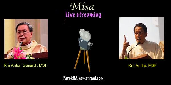 Misa Live Streaming