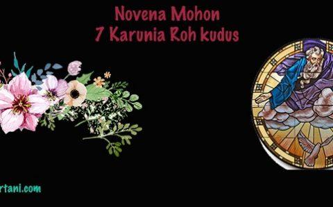 Novena Mohon 7 Karunia Roh Kudus