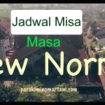 JADWAL MISA di MASA NEW NORMAL