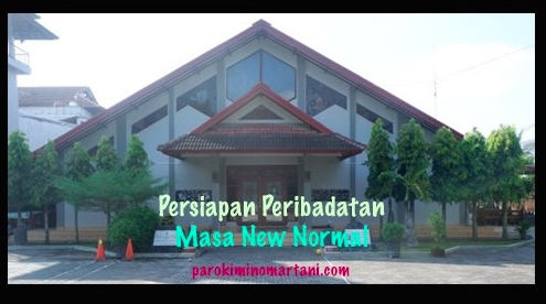 Persiapan Peribadatan New Normal